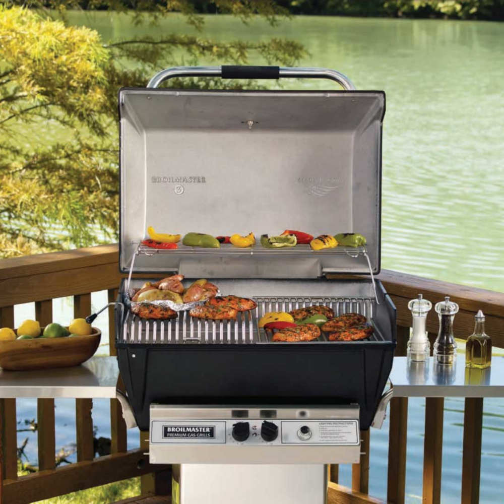 Broilmaster Grill By Lake